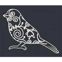 Кружевная птичка (6,5х5,2 см), CB153