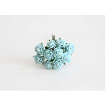 Mini розы 1 см - Бирюзовые 167 1 шт