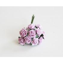 Mini розы 1 см - Св. сиреневые 188, 1 шт.