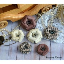 Набор цветов Freetany Flowers - 24 Винтаж
