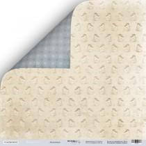 Лист двусторонней бумаги 30x30 от Scrapmir Ангелочки из коллекции Shabby Winter