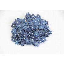 Цветочки маленькие 2 см - Синие 175 1 шт