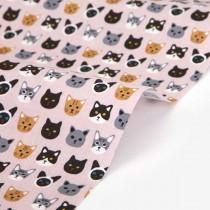"Ткань Dailylike ""My friends kitty"" размер 55х45"