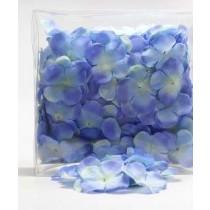 Цветы тканевые, сердцевина 1,9 см (от края до края 4,5 см), цвет 439-34 Light Blue, 1 шт.