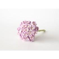 Цветы вишни мини 1 см - Св.сиреневые 188  1 шт