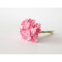 Цветы вишни мини - Розовые 120 1 шт