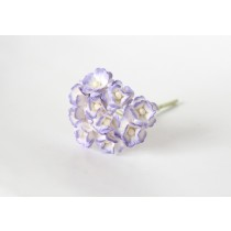 Цветы вишни средние - Сиреневый+белый 543 1 шт