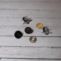 Кнопка магнитная диаметр 14 мм, 1 комплект