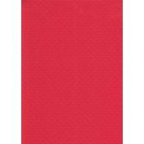 """БР002-10 Бумага с рельефным рисунком """"Точки"""" Цвет: Красный 1 лист"""