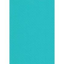 """БР002-12 Бумага с рельефным рисунком """"Точки"""" Цвет: Ярко-Голубой 1 лист"""