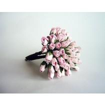 Микро бутоны Розовые 120 1 шт