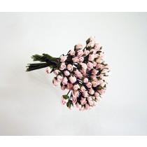 Микро бутоны Розовоперсиковые 123 1 шт