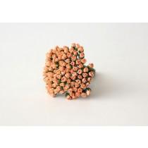 Микро бутоны Персиковые 135 1 шт