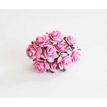 Mini розы 1,5 см - Розовые 120 1 шт