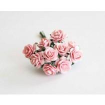 Mini розы 1,5 см - Розовоперсиковые 123 1 шт