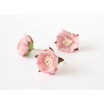 Шиповник - Св.розовый 1 шт, диам ок.3 см, высота ок.1.5 см, длина стебля ок. 2.5 см