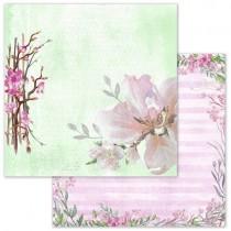 """Бумага """"Аромат вишни. Вишневый сад"""" ScrapMania, BL189"""