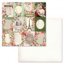 "Бумага ""Сад герцогини. Карточки"" ScrapMania, BL206"