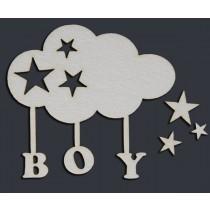 BOY облачко (6,5х6 см), CB020