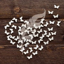 Набор бабочек №3, 50 элементов