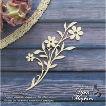Веточка с цветами РАЗМЕР: 12х5,4 см