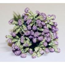 """Декоративный букетик """"Рукоделие"""" DKB009C purple (фиолетовый)"""
