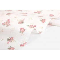 Ткань Dailylike «Pick wild flower:pink bouquet»