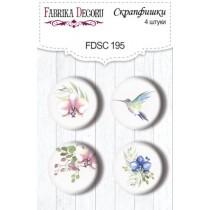 Набор скрапфишек из 4 шт. FDSC 195