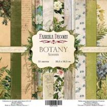 "Набор бумаги 30,5 Х 30,5 ""Botany summer"" 10 односторонних листов, 200г/м"