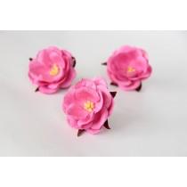 Дикие розы - Розовые диаметр ок. 4.5-5 см высота ок. 1.5 см длина стебля ок. 2 см, 1 шт