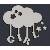 GIRL облачко (6,5х6,5 см), CB021