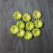 Лепесток маргаритки 2,5 см - ярко зеленый, 1 шт.