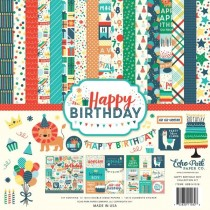 "Набор бумаги Echo Park ""Happy Birthday Boy"" 30х30 см."