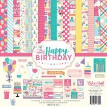 """Набор бумаги Echo Park """"Happy Birthday Girl"""" 30х30 см."""
