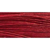 Шнур  вощеный 1,2мм / 1м (красный) 148 [С519]