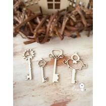 Ключи (4 шт)