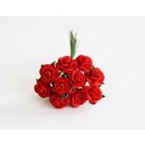 Mini розы 1 см - Красные 101, 1 шт