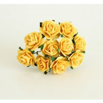 Mini розы 1,5 см - Желтые 144 1 шт