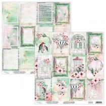 "Лист двусторонней бумаги карточки ""Secret Place"" 30,5х30,5 см. пл. 240 г/м 2"