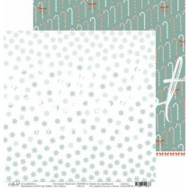 "Двусторонняя бумага Вьюга коллекция ""Новый кот"", размер 30.5х30.5 см, пл. 190 гр\м2"