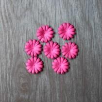 Лепесток маргаритки 2,5 см - розовый № 2, 1 шт