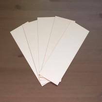 Пивной картон 1.2 мм, 10х30 см, 1 лист