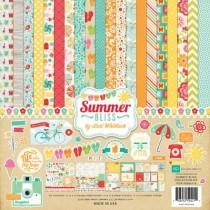 Набор бумаги Summer Bliss 30,5х30,5 см.