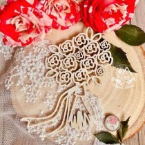 Букет невесты (73*86 мм)