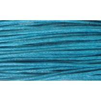 Шнур  вощеный 1,2мм / 1м (бирюзовый) 189 [С547]