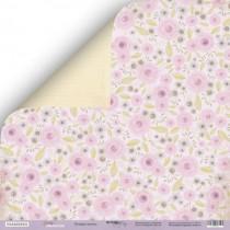 Лист двусторонней бумаги 30x30 от Scrapmir Розовые Мечты из коллекции Daddy's Princess , пл.190 г/м