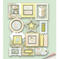 Рамки для фотографий с золотым фольгированием 25 шт от Scrapmir Boy or Girl