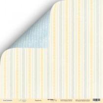 Лист двусторонней бумаги 30x30 от Scrapmir Карамель из коллекции Little Bear  SM2300001