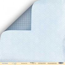 Лист двусторонней бумаги 30x30 от Scrapmir Звёздная ночь из коллекции Little Bear  SM2300002