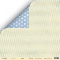 Лист двусторонней бумаги 30x30 от Scrapmir Детство из коллекции Little Bear  SM2300005